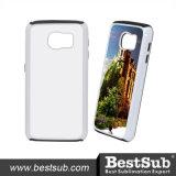 삽입 (TPU, 백색) 없이 Samsung 은하 S6 덮개를 위해 1에서 개인화된 승화 전화 덮개 2