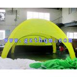 خارجيّة يخيّم خيمة قابل للنفخ/يعلن خيمة قابل للنفخ