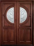 Porta de madeira interior do MDF da alta qualidade, porta de entrada
