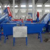 Botella del animal doméstico de la capacidad de 300 Kg/H que recicla la máquina de la producción