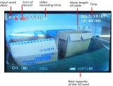 Detetor subaquático da limpeza do dreno do endoscópio da câmera com contador do medidor