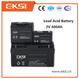 2V 600ahの再充電可能な手入れ不要の鉛酸蓄電池
