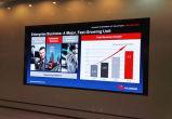 Tres años de la garantía P2.5 Prfessional /Advertising de LED de pantalla de visualización de interior de alquiler