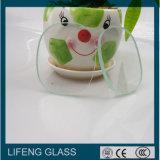 Vidro Tempered redondo/tamanho pequeno/vidro claro