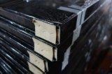 Porte en métal de modèle de cinq panneaux