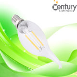 2W 360 Degree E14 E12 LED Filament Light Bulb Lamp LED Filament Candle Bulb