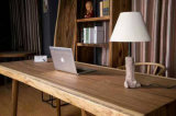 Escritorio de oficina de madera de la nuez con los cajones para el hogar (CG-002)
