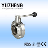 Yuzheng Sanitary Butterfly Valve mit Welding Ende