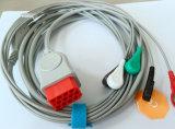 Bionet Snap&Clipの赤いコネクター12pin 5 ECGケーブル