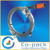同時反復可能な管の切断および斜角が付く機械装置