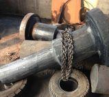 Heiße geschmiedete Stahlwelle des Drehzapfen-C45 für Schwerindustrie