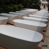 Banho ereto livre de superfície contínuo acrílico de pedra artificial de Dubai