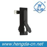 Черный замок плоскости двери шкафа сплава цинка Yh9603