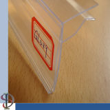 Glass Shelf Price Tag Holder
