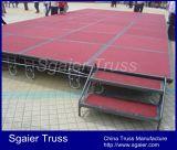 StahlFolding Stage für Hotel Stage Stage mit Wheels