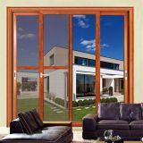 Feelingtop Doppelverglasung-gleitendes Aluminiummoskito-Netz-Fenster