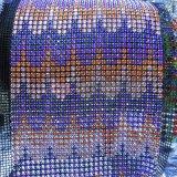 Rolo de cristal Custom Designed do engranzamento para a ornamentação do vestido