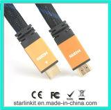 чернота куртки хорошего качества кабеля 1.4V 1080P HDMI защищаемая нейлоном