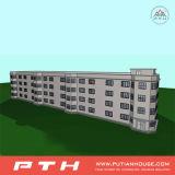 Multi-Geschichten fabrizierten Stahlkonstruktion-Landhaus-Gebäude für Luxushotel vor