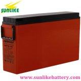 Bateria Telecom terminal 12V80ah do acesso da parte dianteira da potência solar para a telecomunicação