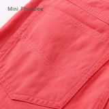 Rosa Cotton Kids Clothes da vendere Online Girls Pants