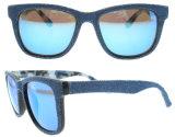 2016 ha polarizzato gli occhiali da sole dell'acetato del Jean di vetro di Sun di disegno dell'Italia