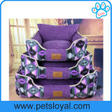 Base lavable del perro de animal doméstico de la nueva lona de la fábrica 2016 para la venta