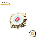 Emblema do Pin de metal da bandeira nacional, Pin macio feito sob encomenda do Lapel do esmalte