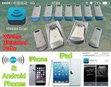 Punta de prueba linear del ultrasonido del ultrasonido sin hilos vascular de la proyección de imagen para el iPhone, iPad, ultrasonido del teléfono móvil