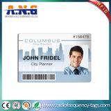 Scheda del PVC di identità, scheda di identificazione del ritratto per presenza degli impiegati
