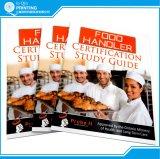 직업적인 두꺼운 표지의 책 요리사 책 인쇄