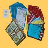 Tablero Tarjeta de encargo tarjetas de juego con buena calidad