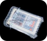 Sacos de plástico Shockproof de empacotamento do ar do bloco do transporte da coluna da bolha plástica desobstruída