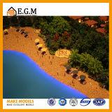 De Modellen van het Model van de villa/van het Model/van de Tentoonstelling van de Bouw van het Project