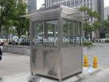 Pequeña casa prefabricada/prefabricada móvil para el protector del camino en China