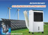 24/48V o condicionador de ar solar portátil o mais novo da C.C. do móbil 100%