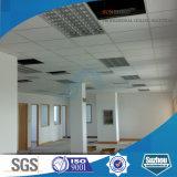 Panneau de plafond minéral suspendu au plafond bon marché de fibre (marque célèbre de soleil)