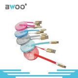 Micro cabo de dados colorido do USB do relâmpago para o telefone esperto