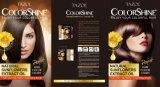 Tintura de cabelo de Colorshine do cuidado de cabelo de Tazol (luz - marrom) (50ml+50ml)