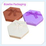 カスタマイズされた多彩なボール紙のペーパー六角形ボックス