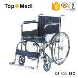 Grundlegender Standard-Handbuch-Rollstuhl des Topmedi Stahl-809
