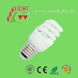 Volle Lampen-Energieeinsparung-Birne der Spirale-T2-9W E27 CFL