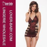 De sexy Vastgestelde Hete Pyjama's van de Lingerie voor Vrouwen (l2174-1)