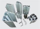 Vario profilo dell'alluminio T5 di disegno 6063