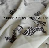 Ткань полиэфира шифоновая для шарфа/одежды платья