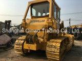 Bouteur de chenille du tracteur à chenilles D7g de 20ton utilisé parTreuil hydraulique 40hq-Container-Packing 3306-Engine