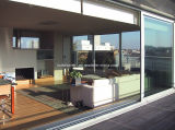 平らなSurface Sill Double Glass Aluminium WindowsおよびDoors