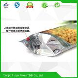 Aluminiumfolie-Raum-Reißverschluss-Verriegelungs-Fastfood- Beutel