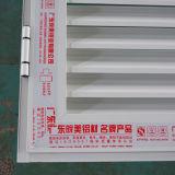 Porte fixe de tissu pour rideaux d'obturateur de profil en aluminium enduit de poudre de la qualité Kz354