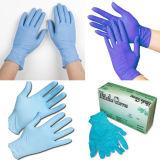 De beschikbare Handschoenen van het Nitril van Maleisië van de Handschoen van het Nitril van de Handschoenen van het Nitril van het Examen Beschikbare Blauwe